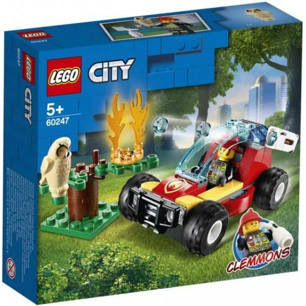 Конструктор Lego City Fire. Лесные пожарные